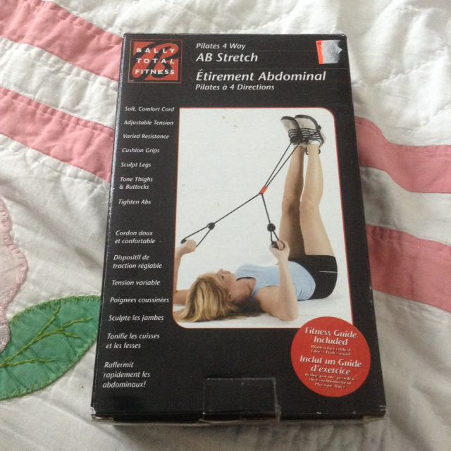 AB Stretch Cord For Exercising