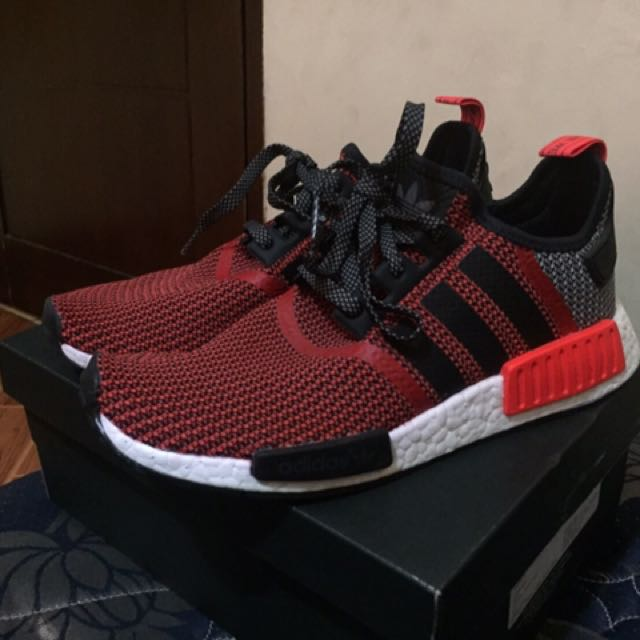 Adidas NMD R1 Lush Red