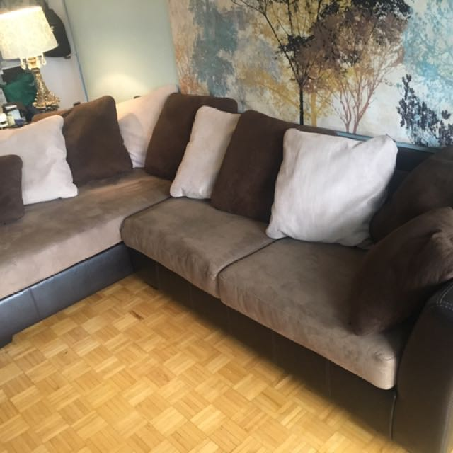 ASHLEY Furniture Sectional Couch Sofa And Chair