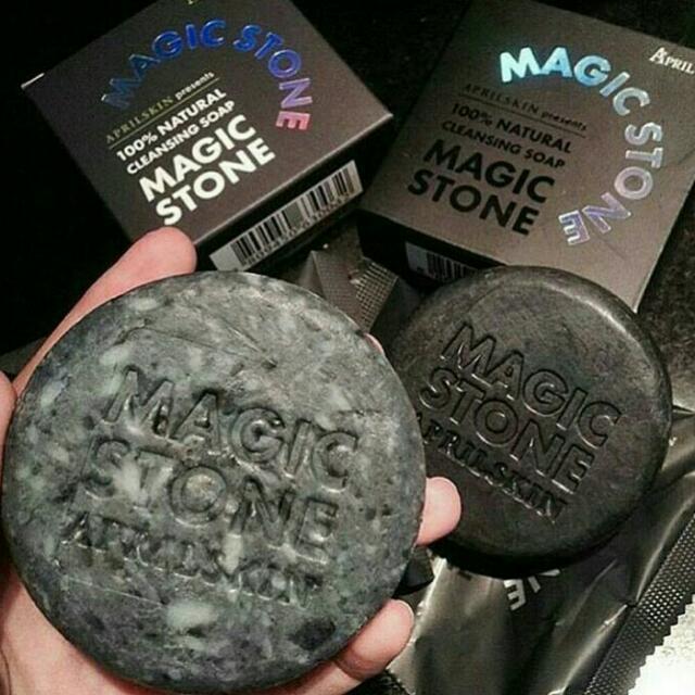 Authentic April Skin Magic Stone