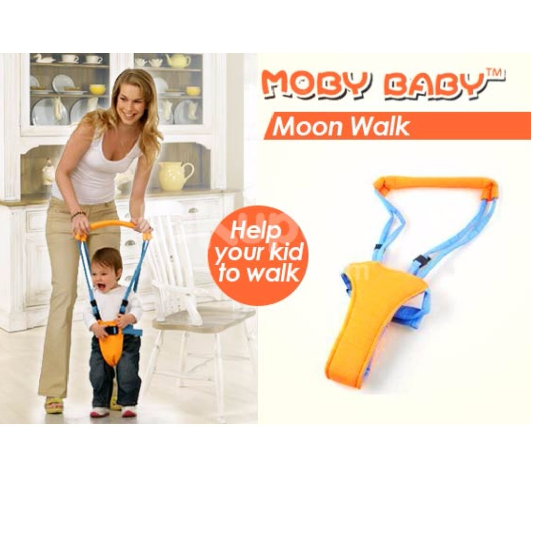18486b363347 Baby Moon Walk Toddler Kid Harness Bouncer Jumper Walker Assistant ...