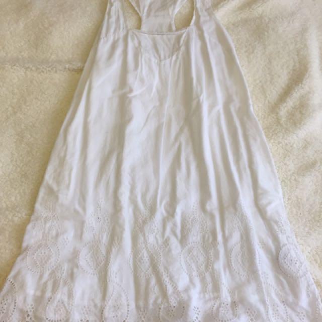 Banana Republic White dress
