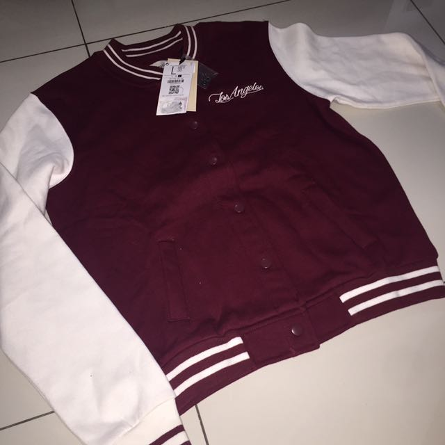 Bershka Varsity Jacket NEW WITH TAG