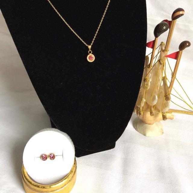 Birthstone Jewelry Set