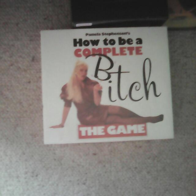 Bitch Board Game
