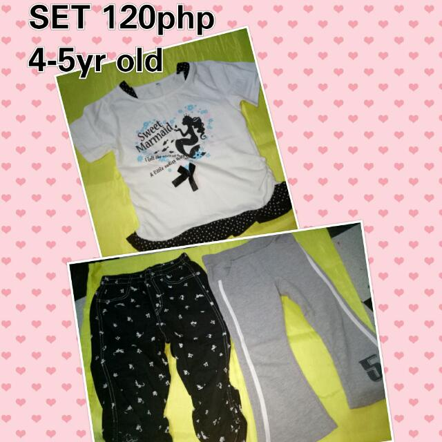 Blouse And Pants Set