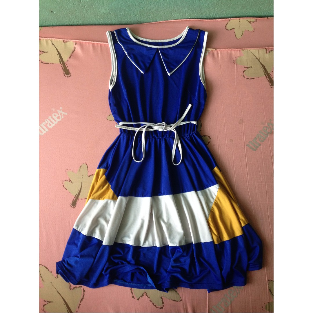 Blue Cute Dress