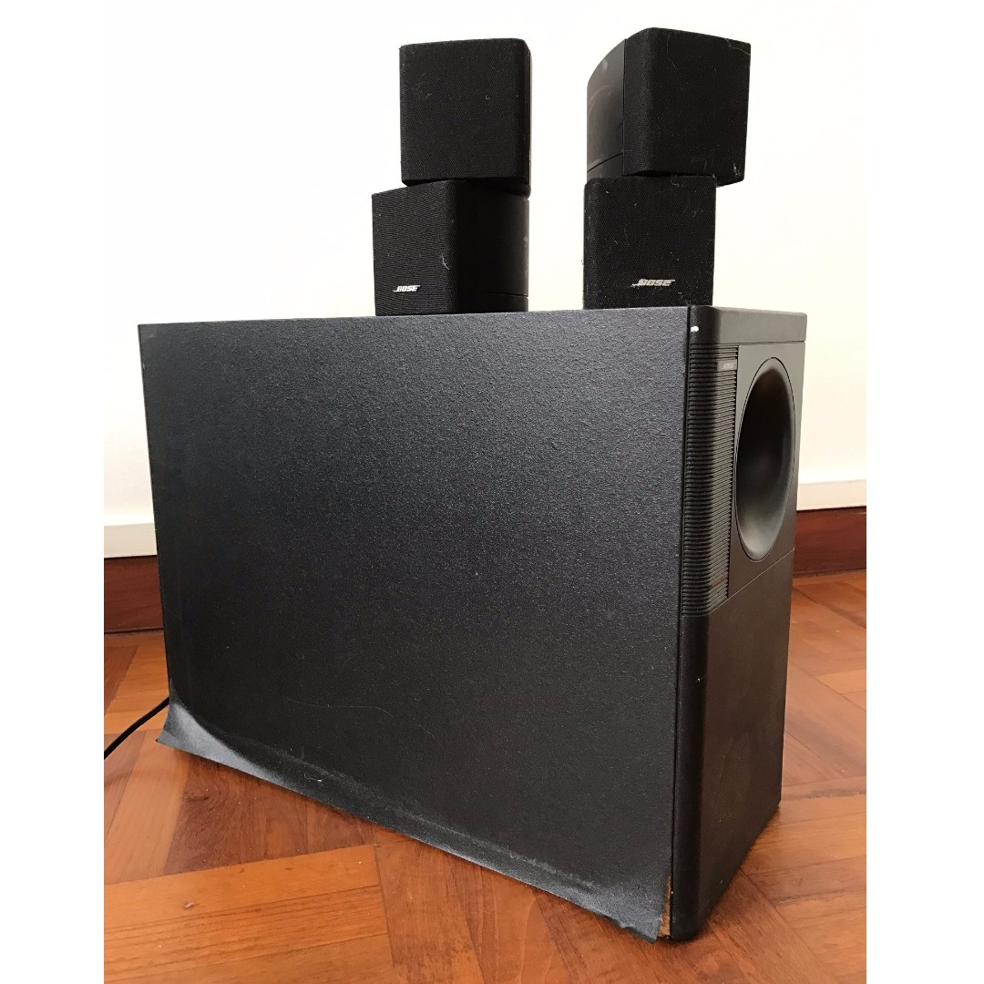 Bose Acoustimass 5 Series iii speaker system, Electronics, Audio on ...