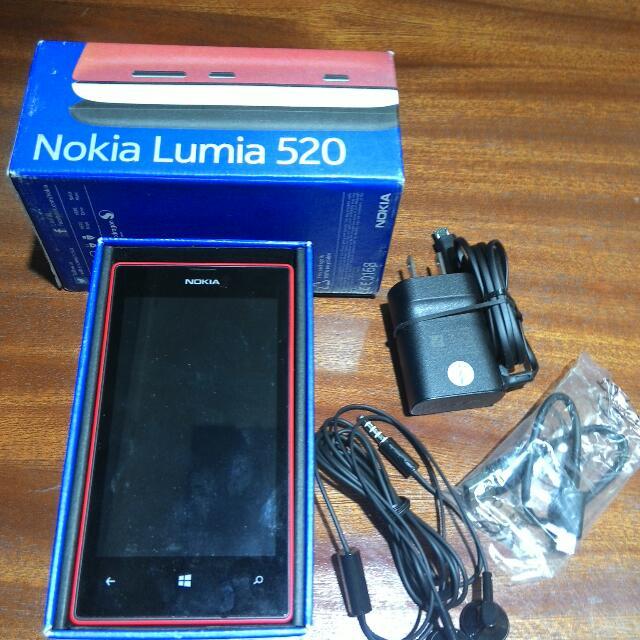 Brandnew Nokia Lumia 520