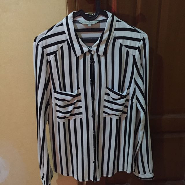 CACHE CHACE Stripe Shirt