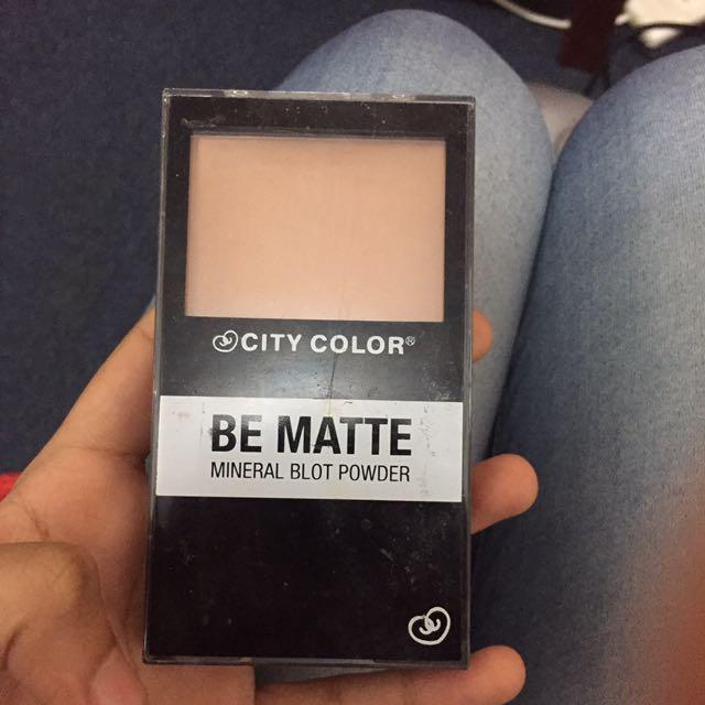 City Colour Mineral Powder