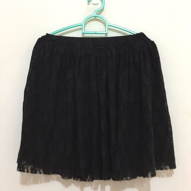 Colorbox Woman's Skirt In Black