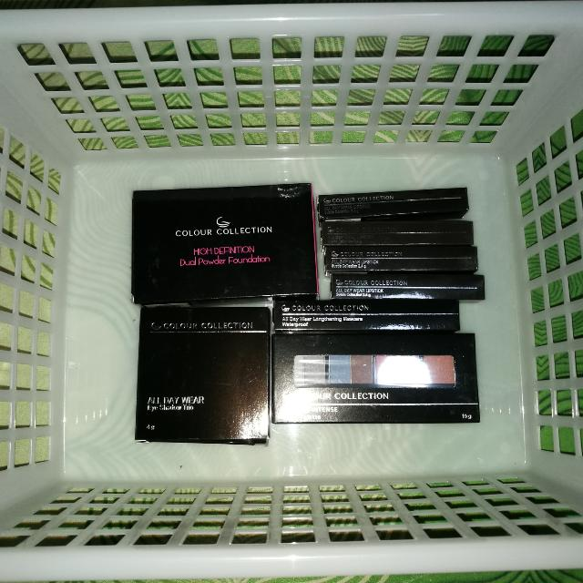 Sale Buy All For 900! Colour Collection Makeup Bundle New