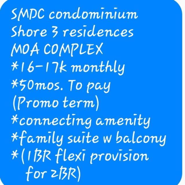 Condominium Located At MOA