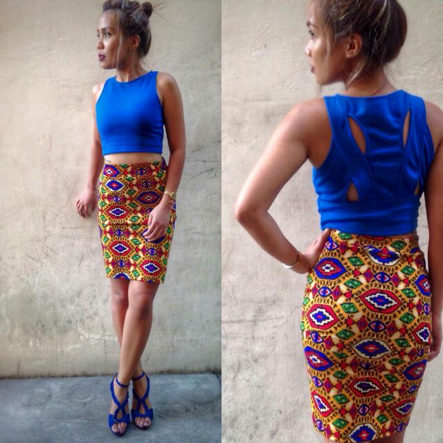 Crop Top With Detailed Back