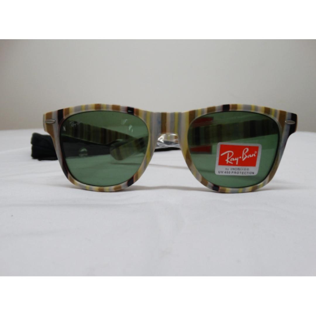 Designer Unisex Sunglasses - Brown Grey Black Yellow Wight