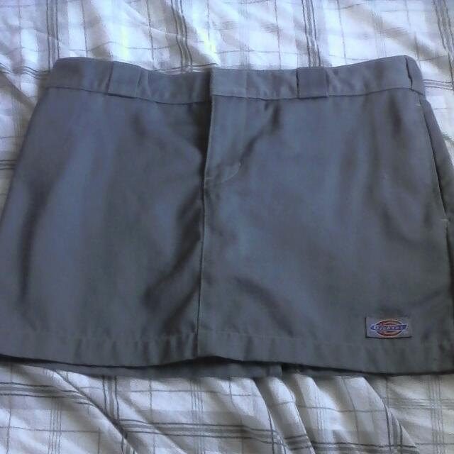 Dickies Gray Skirt