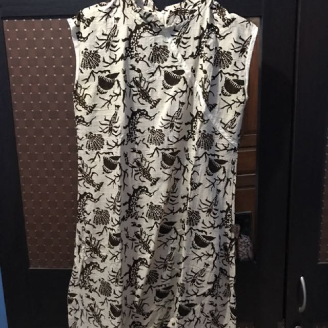 Dress Batik Bagus Big Size