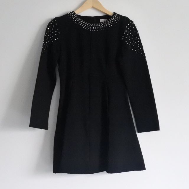 Dress Hitam mote