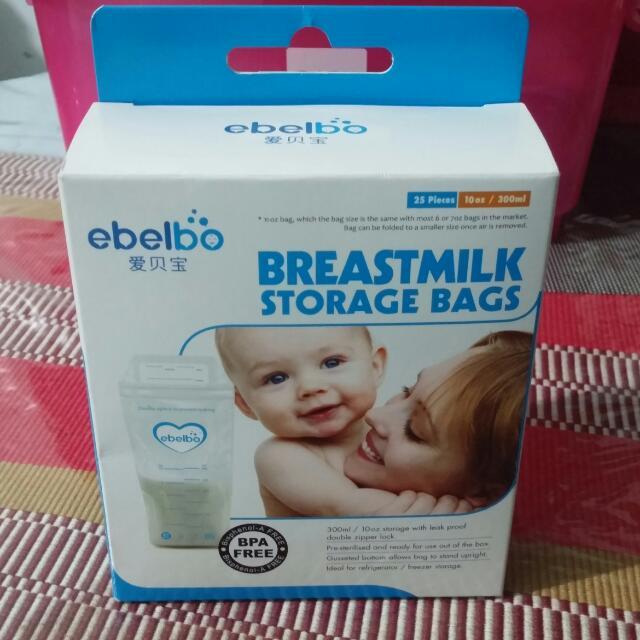 Ebelbo Breastmilk Storage Bag