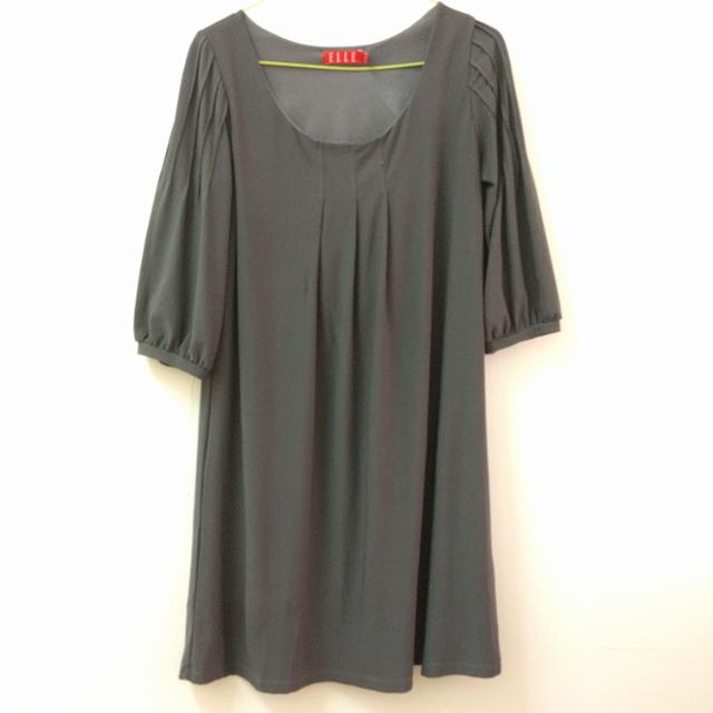 Elle Grey Tunic Top