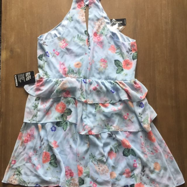 Express Summer Tiered Dress BNWT