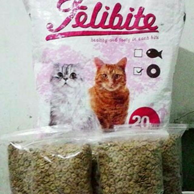 Felibite 800gr Repack Pet Supplies Food On Carousell