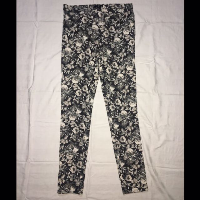 H&M Floral Jeggings