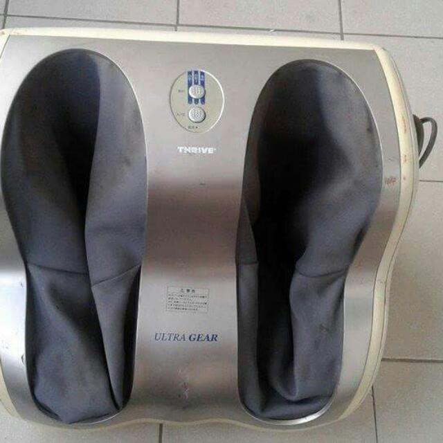 Foot and leg massager