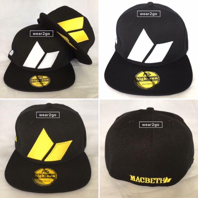 cad62aa9a (Full Cap) MACBETH SnapBack Cap