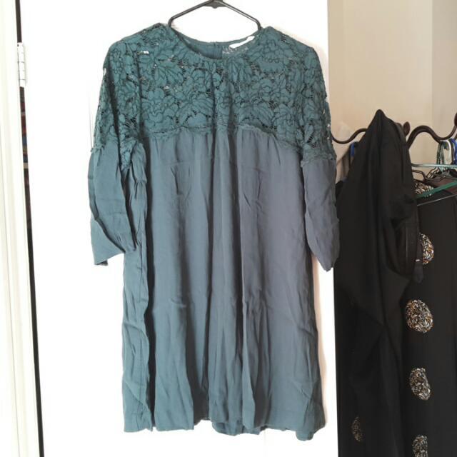 Green Midi/short Dress