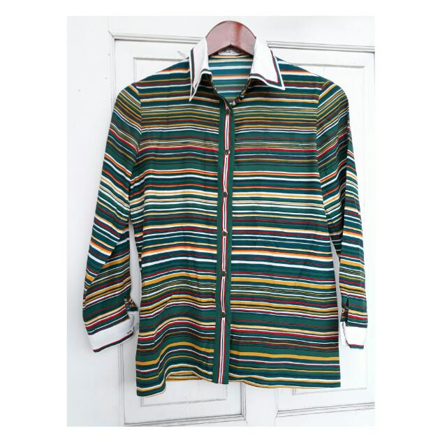 Green Stripes Longsleeves