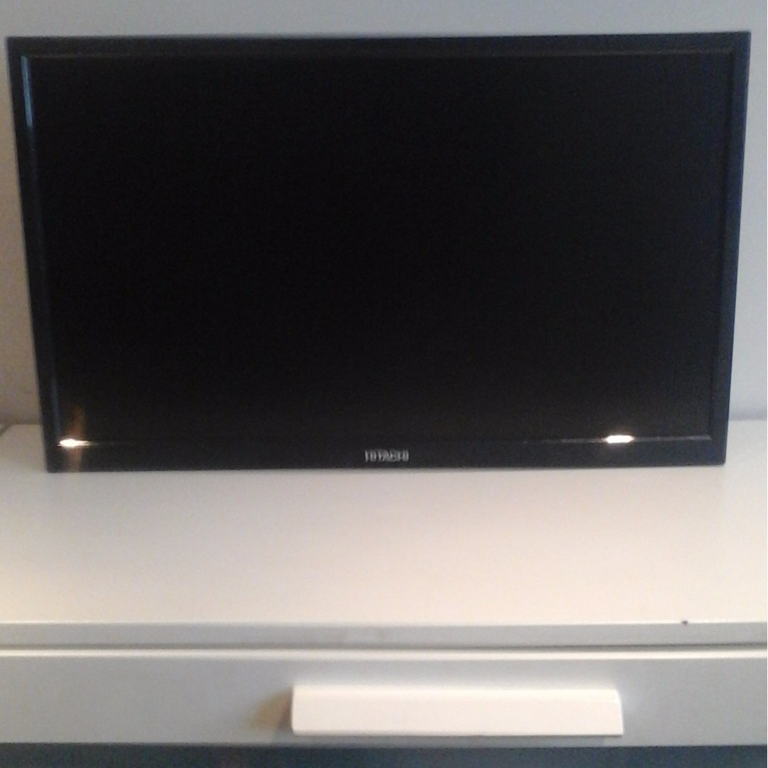 Hitachi TV with built in DVD Player 24 Inch