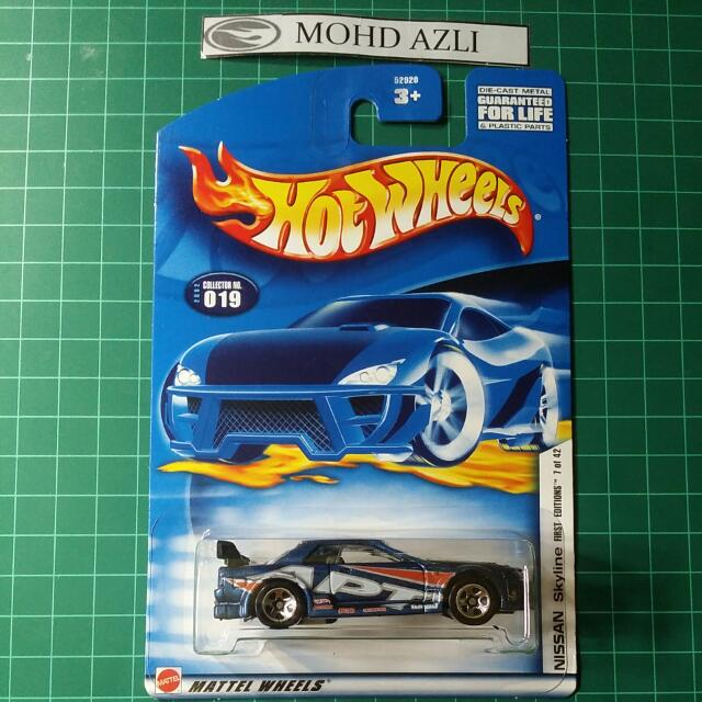 Hot Wheels Nissan Skyline Gt R R32 Blue Apt Toys Games Other