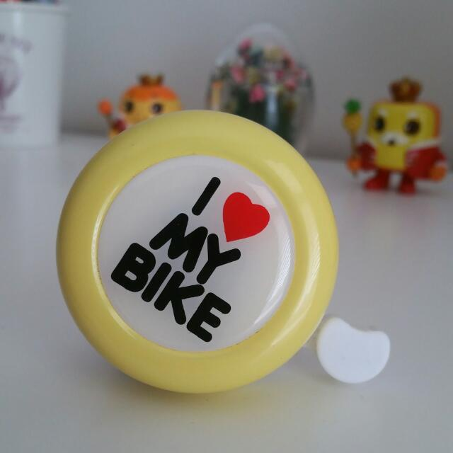 I ❤ MY BIKE - Bell
