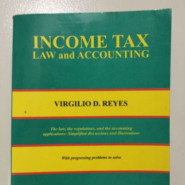Income Tax (Law And Accounting)