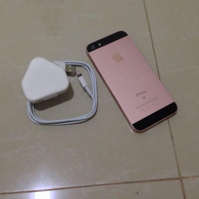 iPhone 5 16GB Custom iPhone SE Rose Gold!