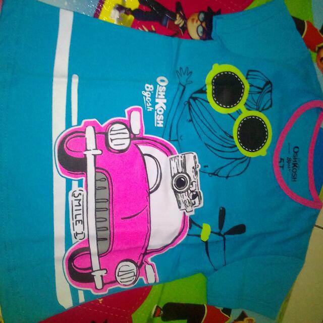 Kaos Anak Merk Oshkosh Size 5