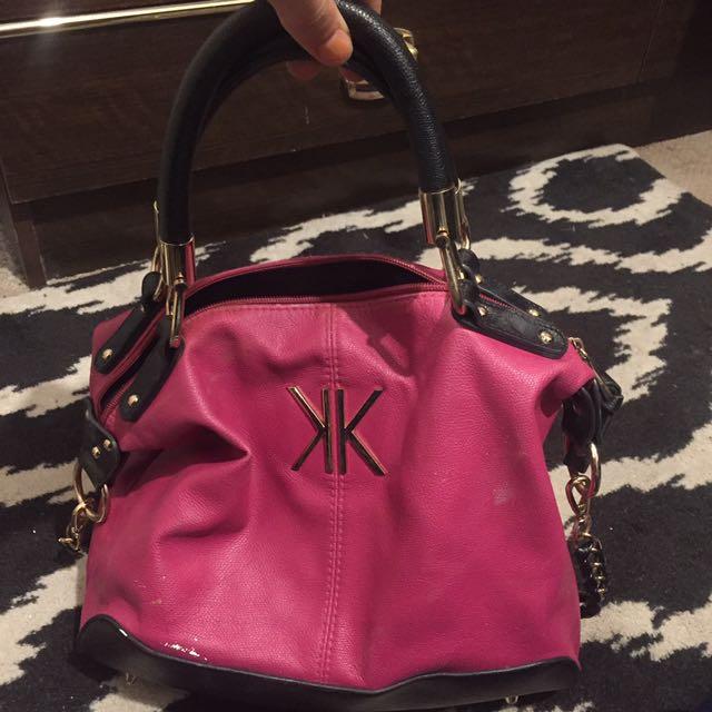 Kardashian Kollection Pink Bag