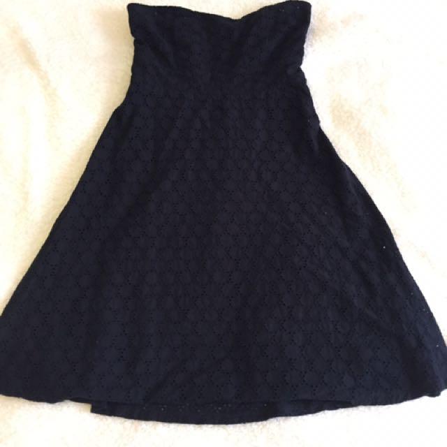Katie Black Tube Dress