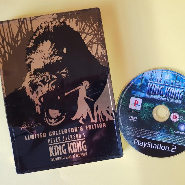 King Kong Limited Edition Steel Case 'Ps2'