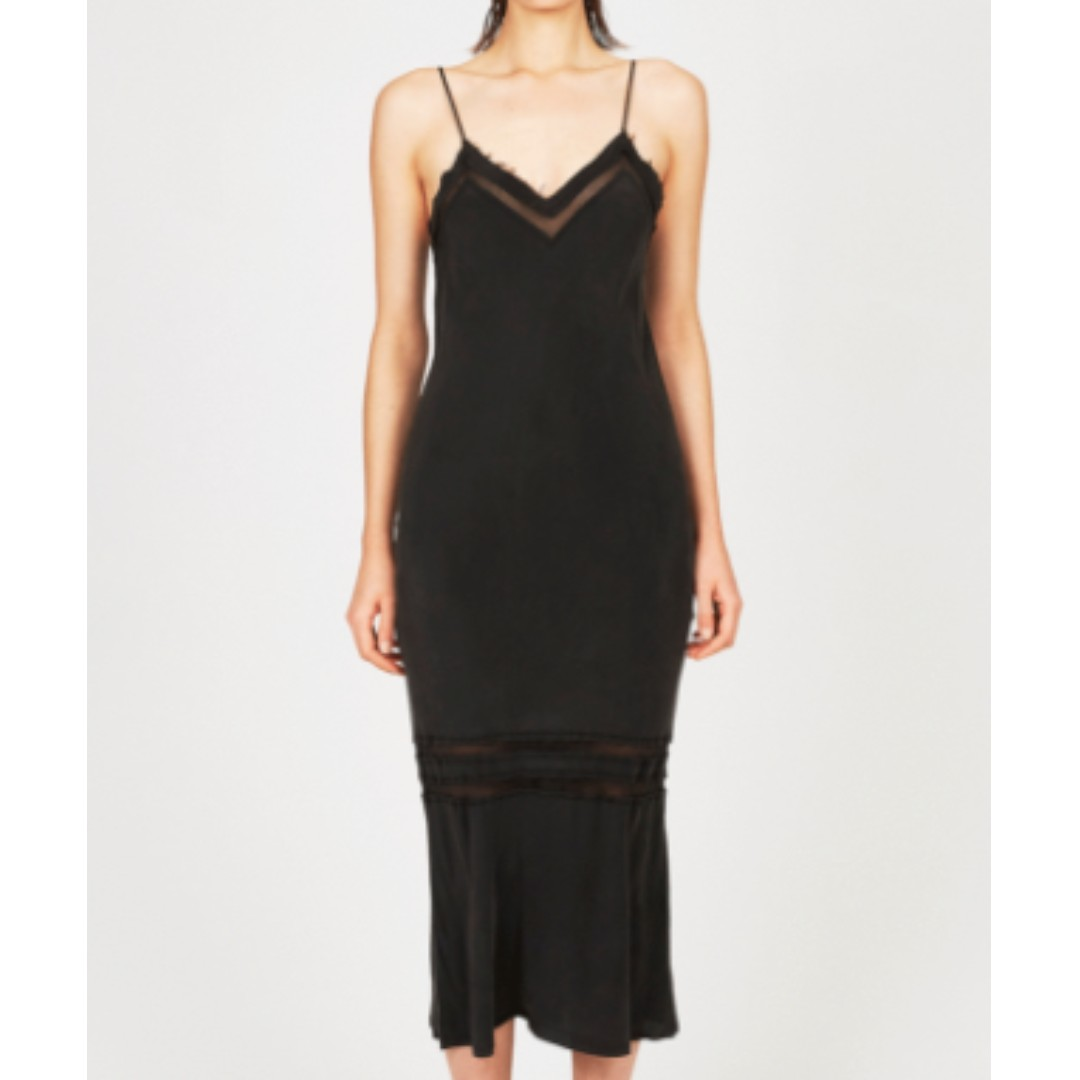 Ksubi Shattered Slip dress BNWT