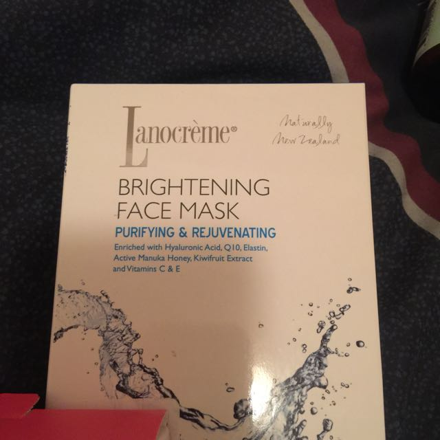 Lanocreme Brightening Face Mask