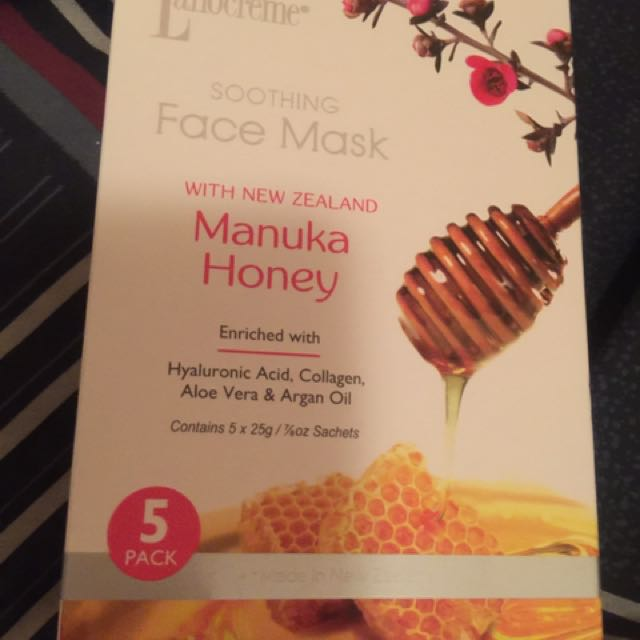 Lanocreme Manuka Honey Face Mask