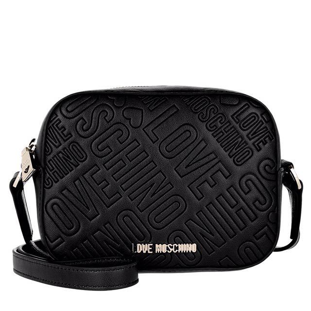 Love Moschino Embossed Crossbody Bag