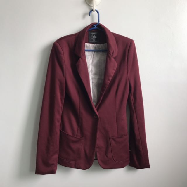 Maroon Cotton On Blazer