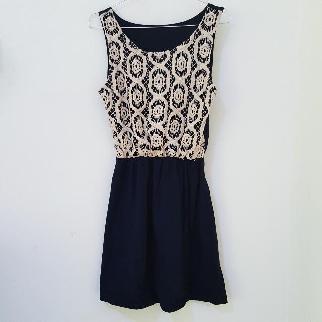 Mini Dress With Top Details