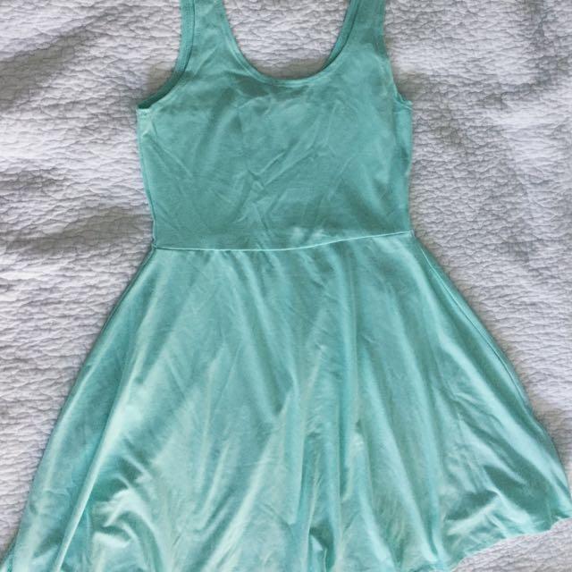 Mint Skater Dress