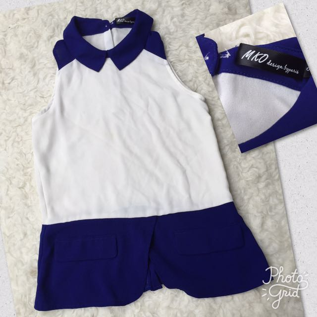 MKO Blue Collar Top
