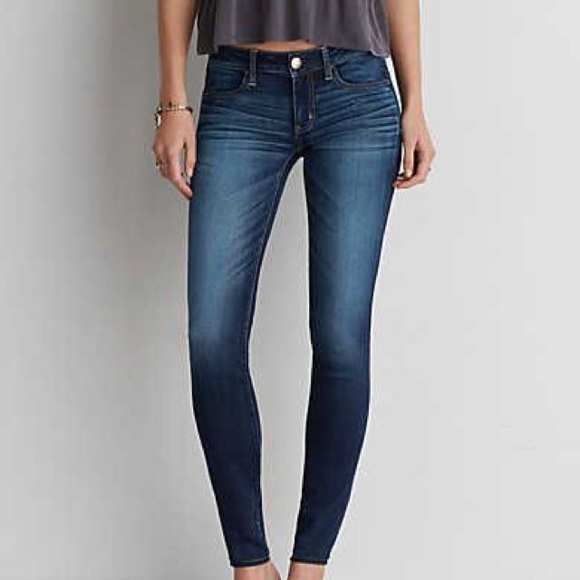 Navy American Eagle Jeans